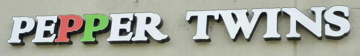 Sign on building