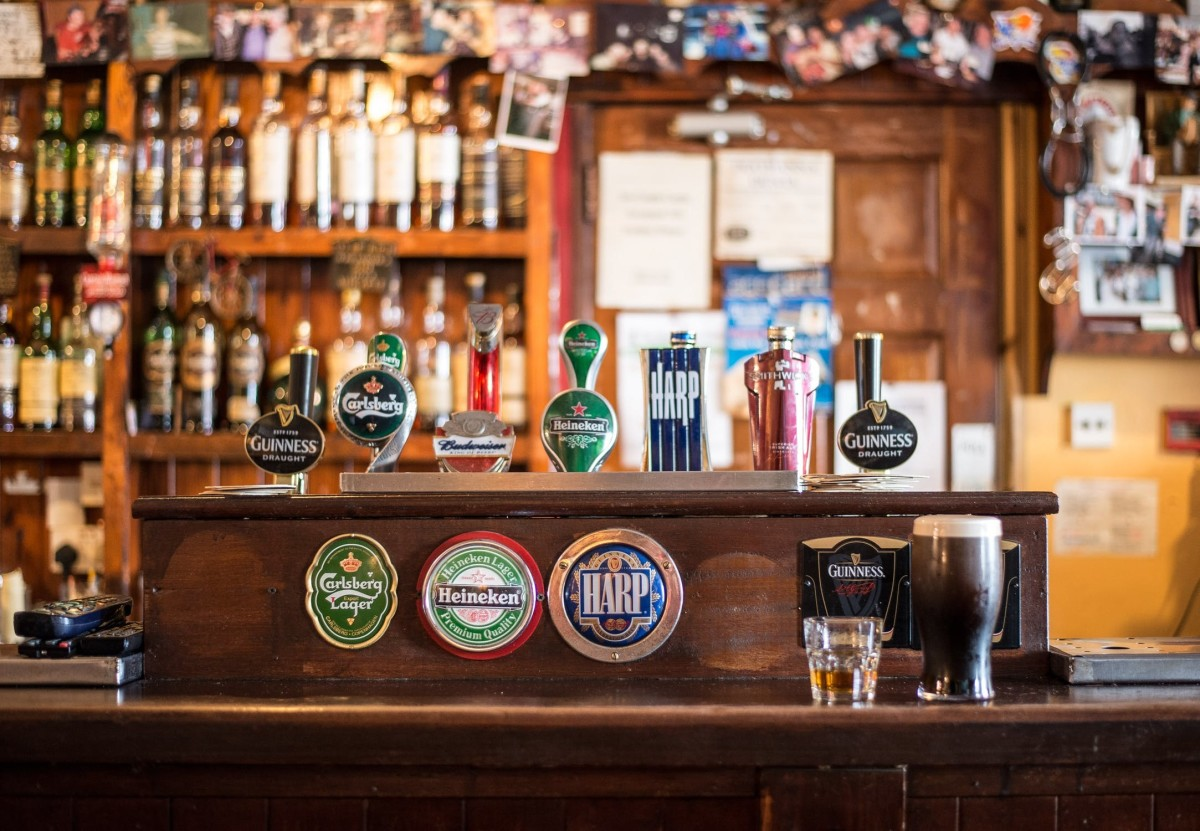 O'Donoghue's is one of the most touristic Irish pubs in Dublin