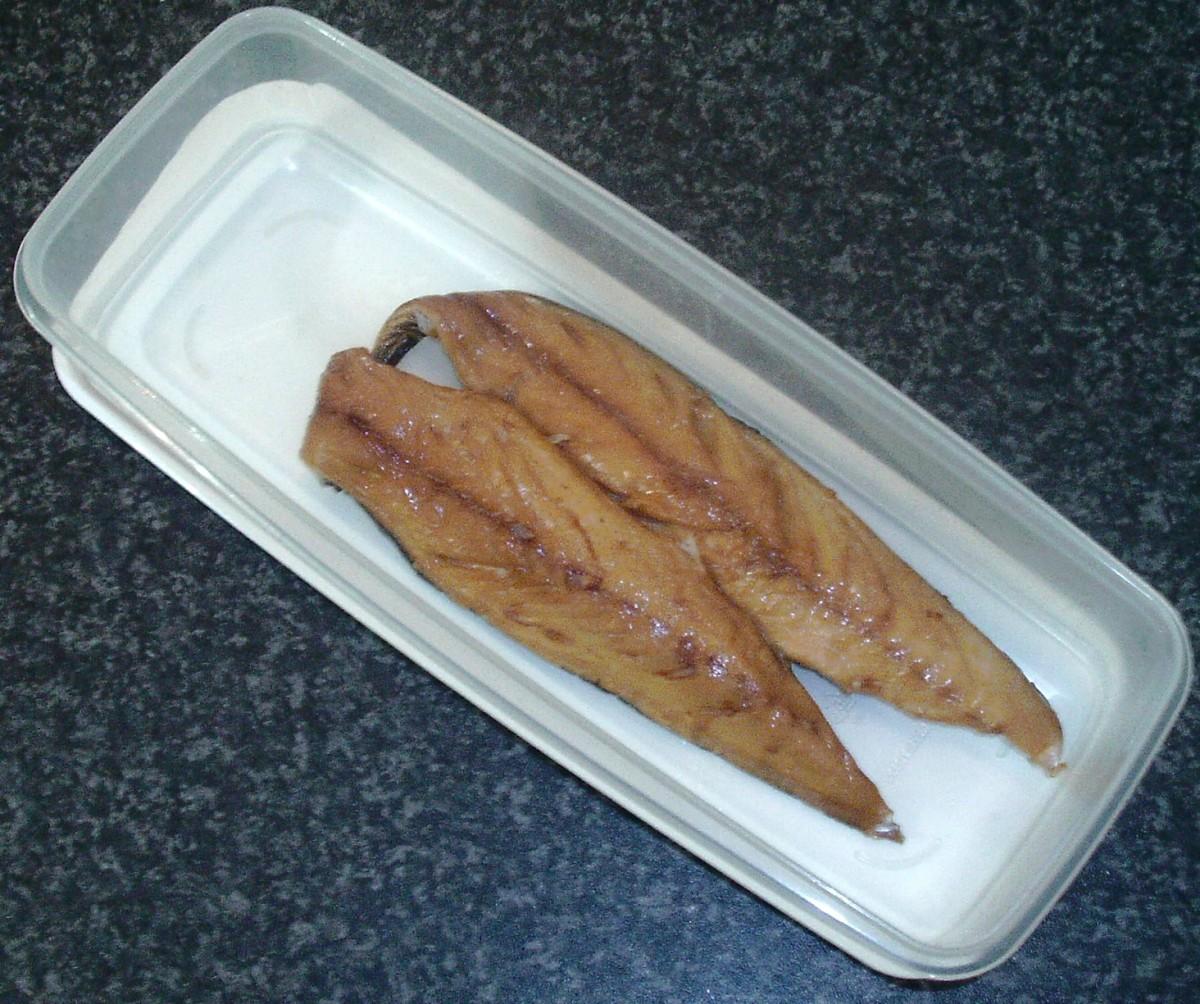 Smoked mackerel fillets