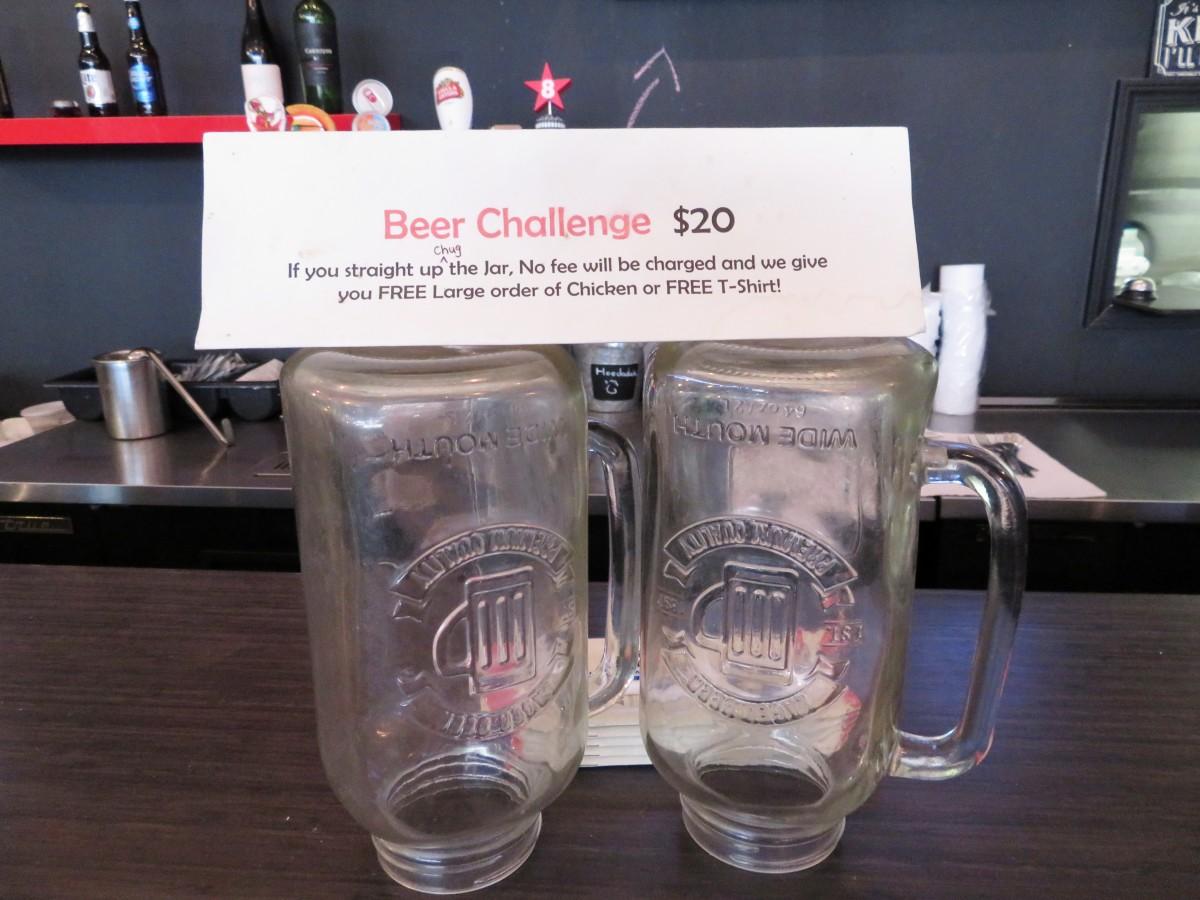 Hoodadak Beer Challenge