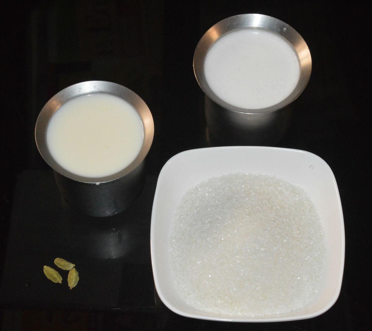 Ingredients for making amrutha phala