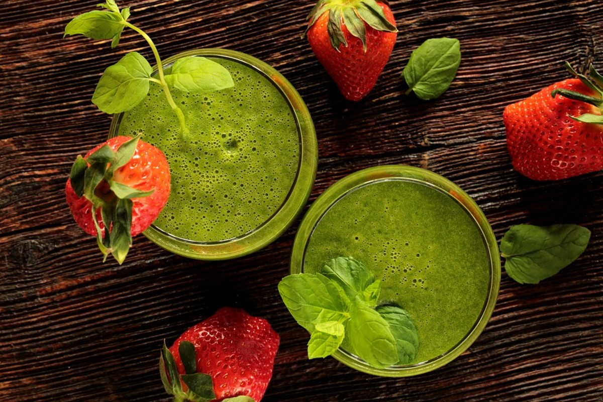 Detox drinks can be delicious.