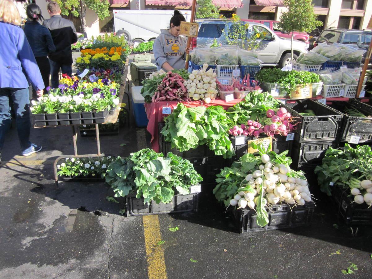 Get your fresh veggies
