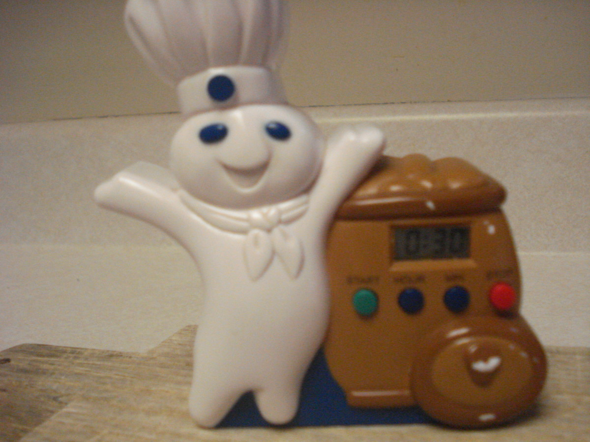 Cute doughboy timer set for 30 minutes