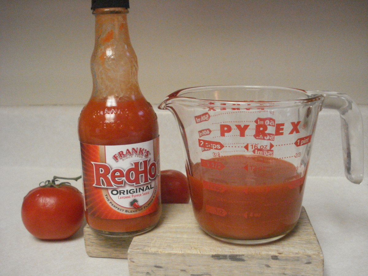 1 cup of red hot sauce