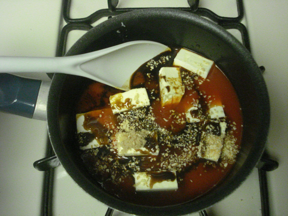 pre cooked wing sauce mixture