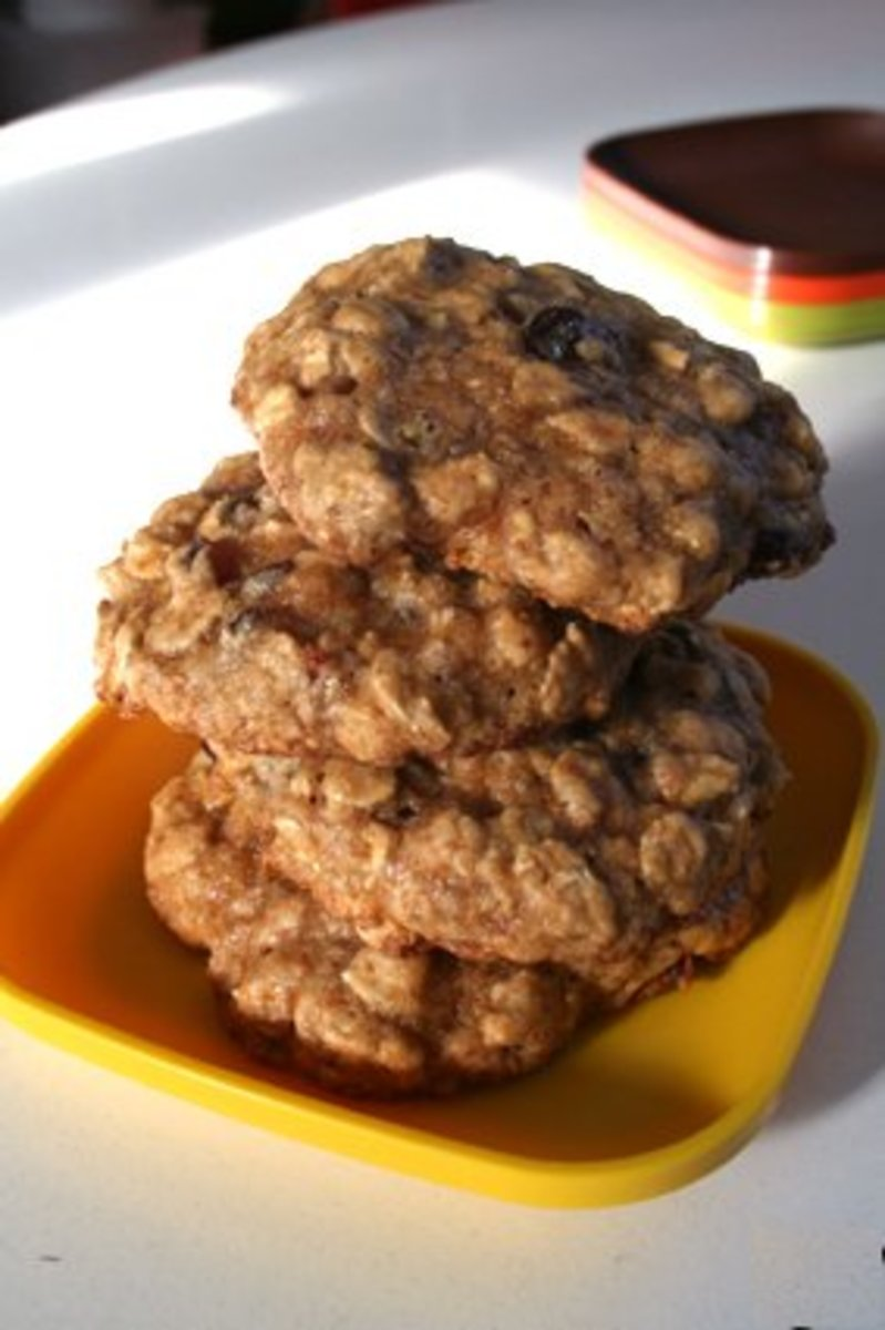 Oatmeal-Based Low-Fat & Fat-Free Cookie Recipes