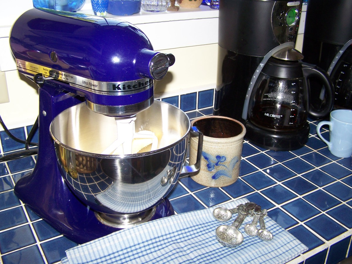 A stand mixer is a great investment for home bakers!