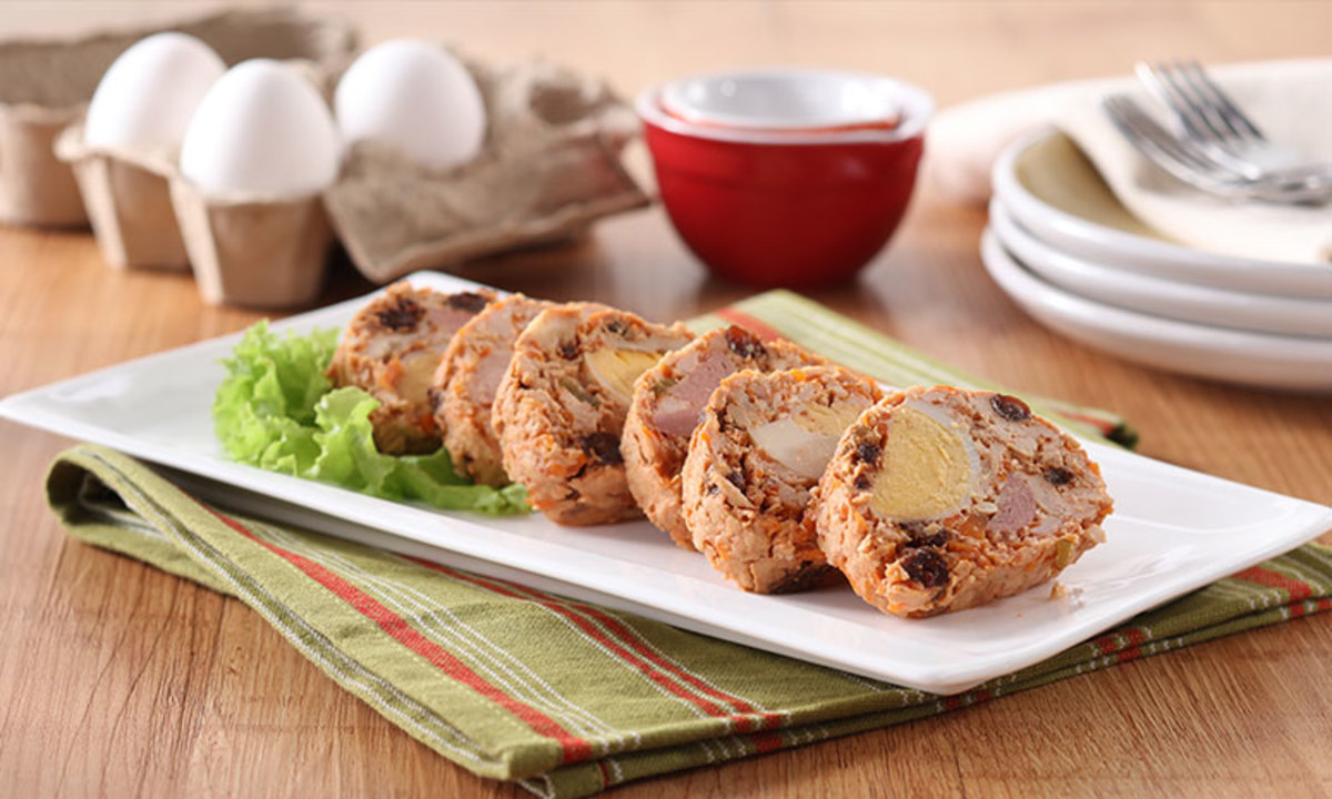 Chicken meat rolls
