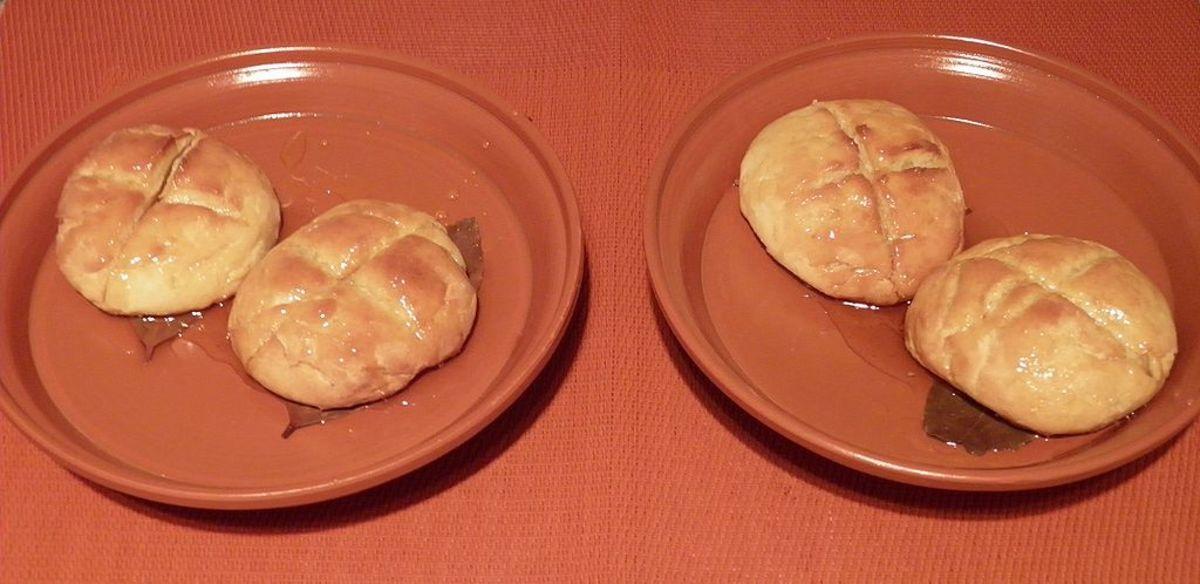 Libum (Ancient Roman Cheesecake)