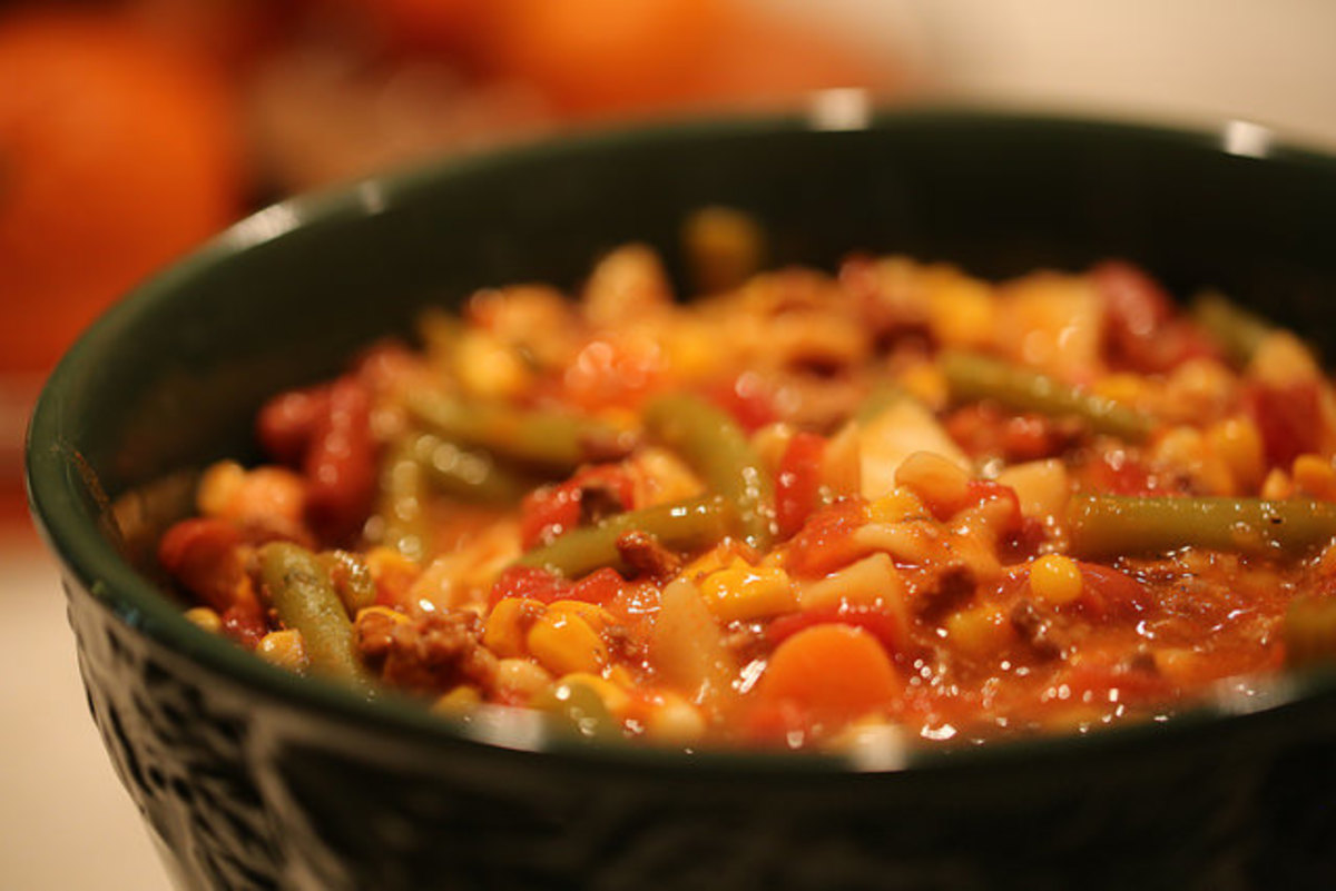 You can easily make this soup vegetarian.