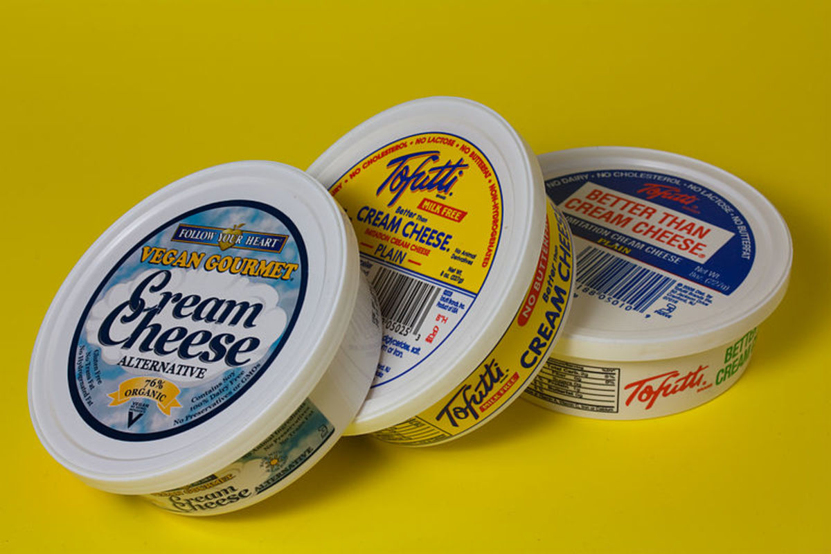 Vegan cream cheese will work in the following recipes!