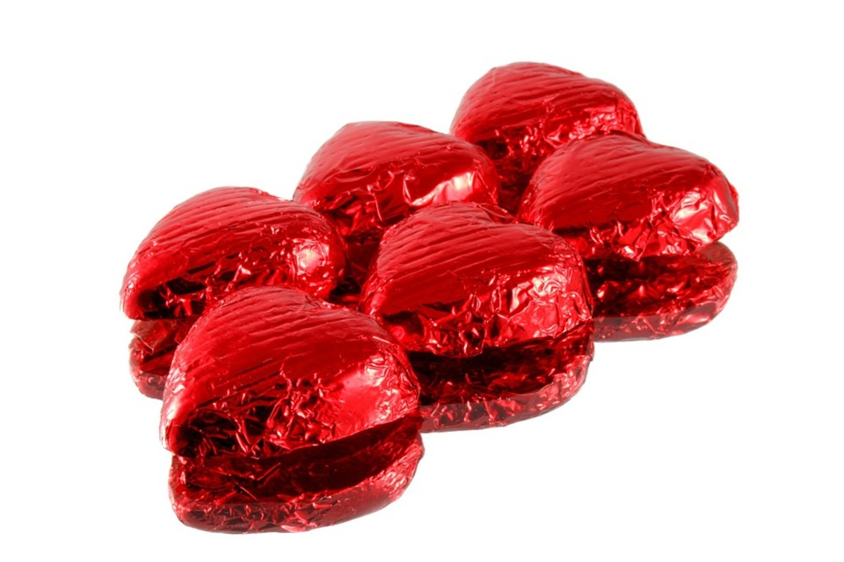 Candies can be individually wrapped for gifts and parties. I have done this for Christmas and Valentine's Day.
