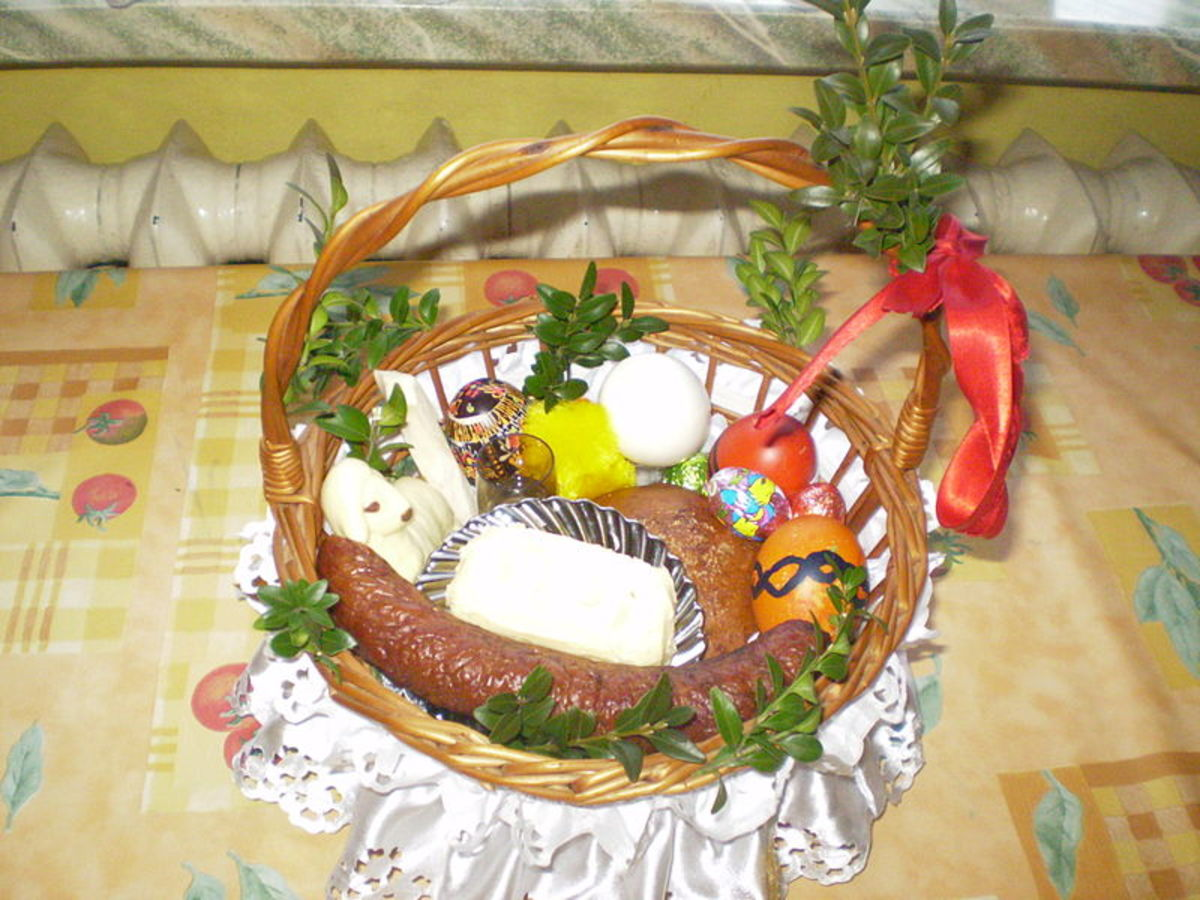 Another depiction of the Polish basket.