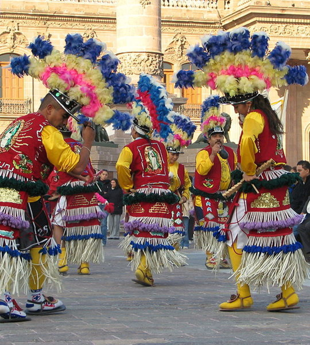 Historical Dancers in Monterrey