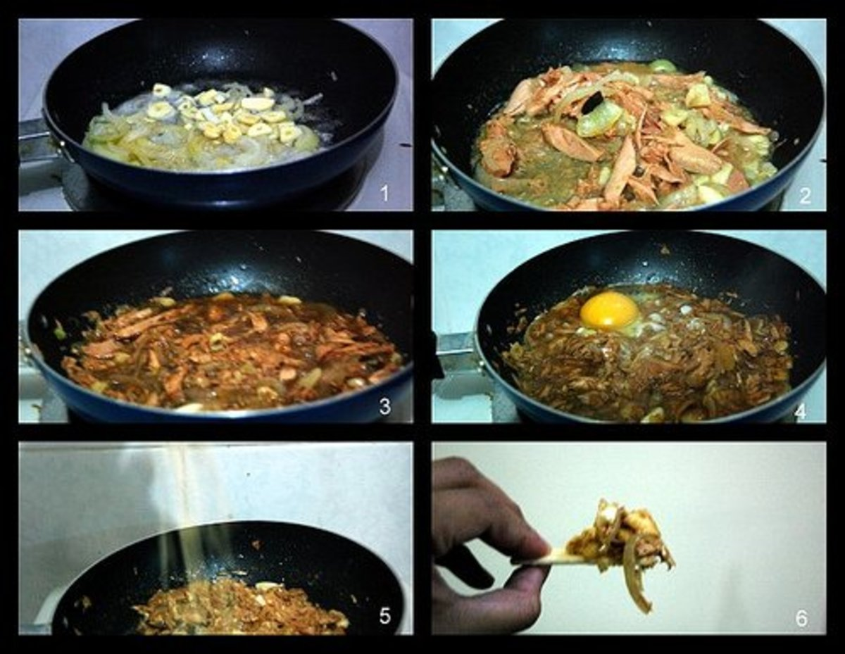 How to cook tuna sisig (photo courtesy by AbiCorpus from Flickr).