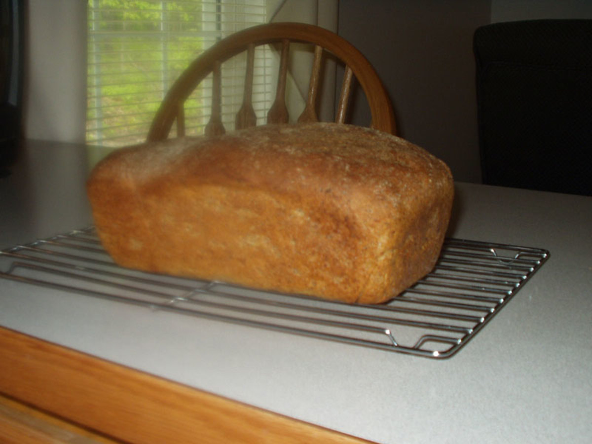 Yummy Flax Bread, Ready to Eat!