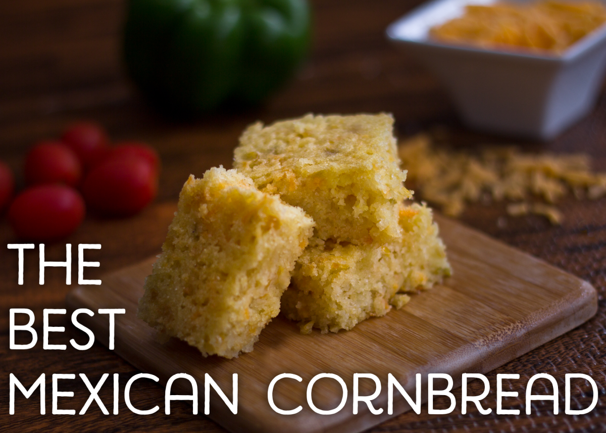 And I guarantee you that this is the best Mexican cornbread you will ever eat.
