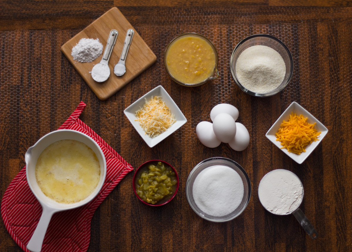 Mexican cornbread ingredients