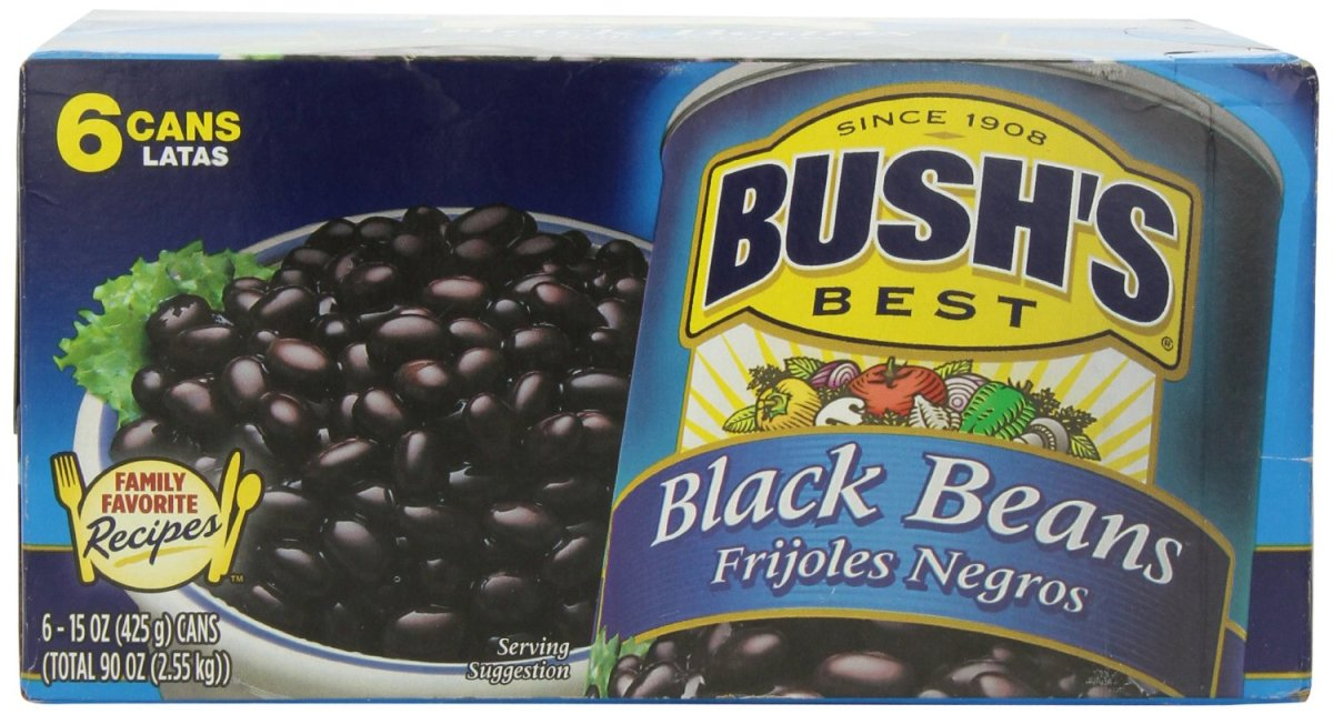 The recipe from a can of Bush's black beans was a guide for a spicy Mexican soup.  See the tweaked version below.