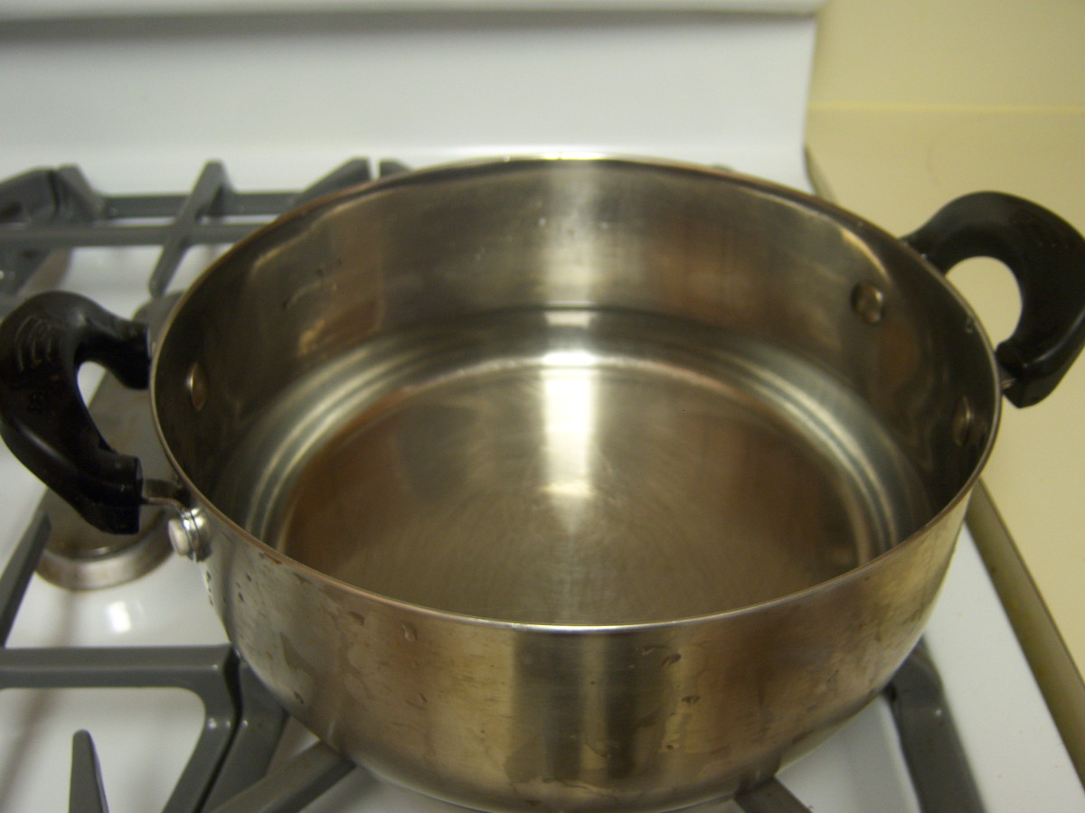 This is the amount of water you should have in your pot to start..add more water as necessary throughout cooking process.