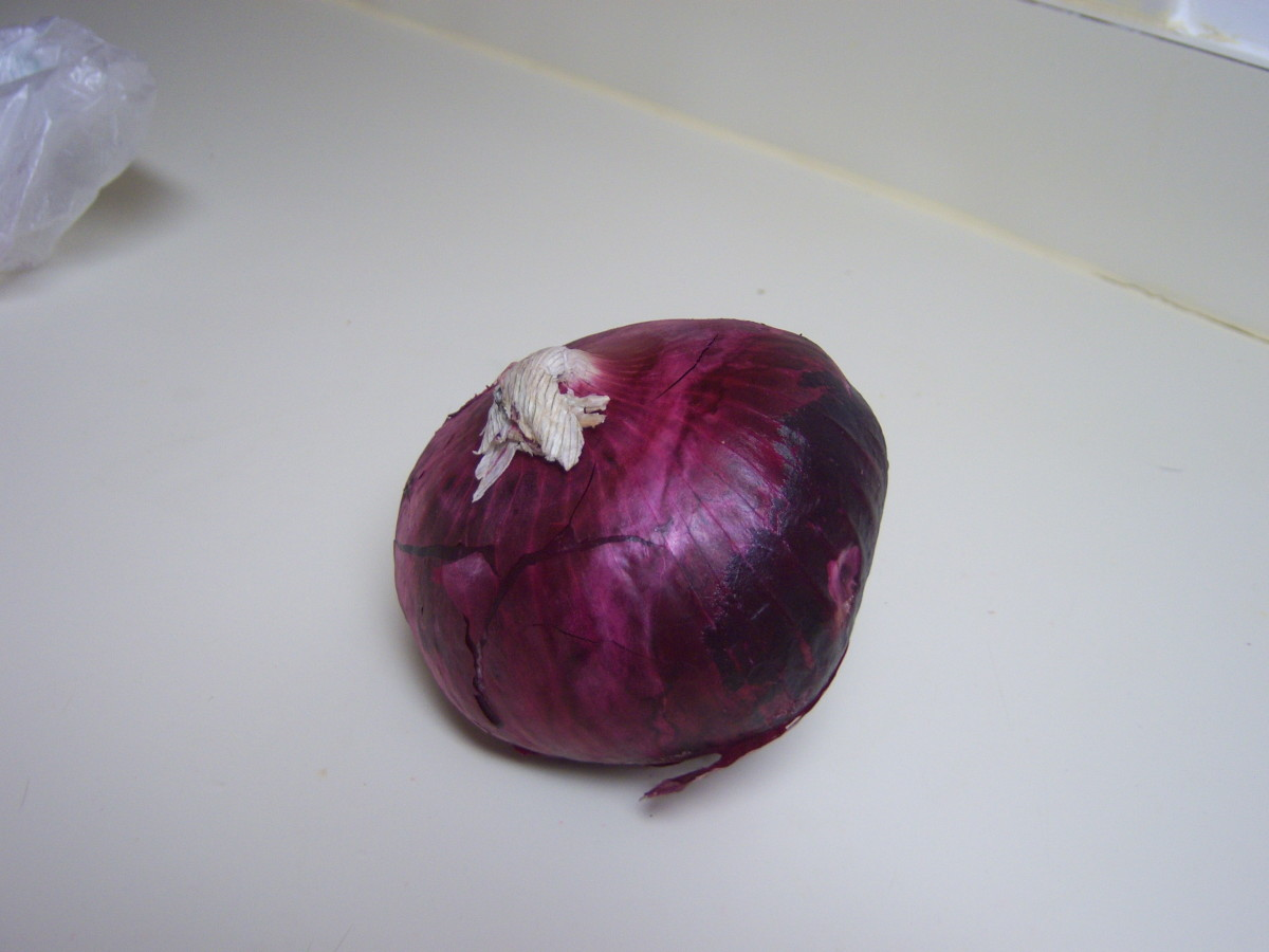 The red onion is also an excellent choice for seasoning!