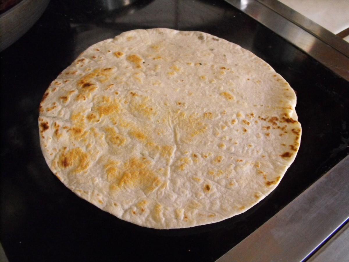 Brown your tortillas in a pan before stuffing them.