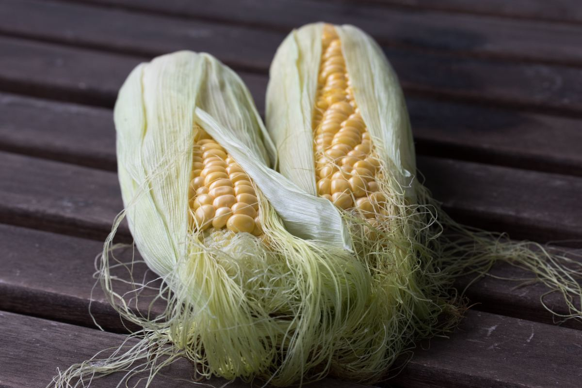 When fresh corn becomes available in the summer, it's everywhere!