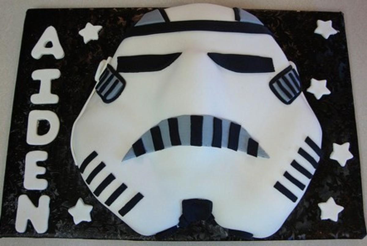 Stormtrooper Birthday Cake