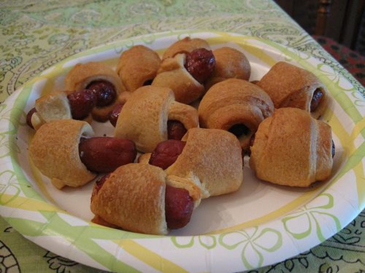 You can't go wrong with pigs in a blanket.