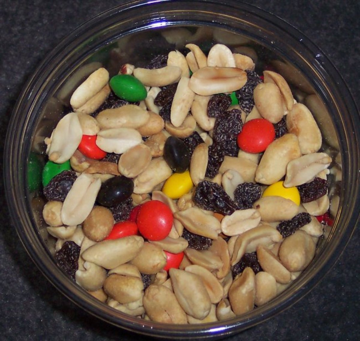 Trail mix is a classic party favorite.