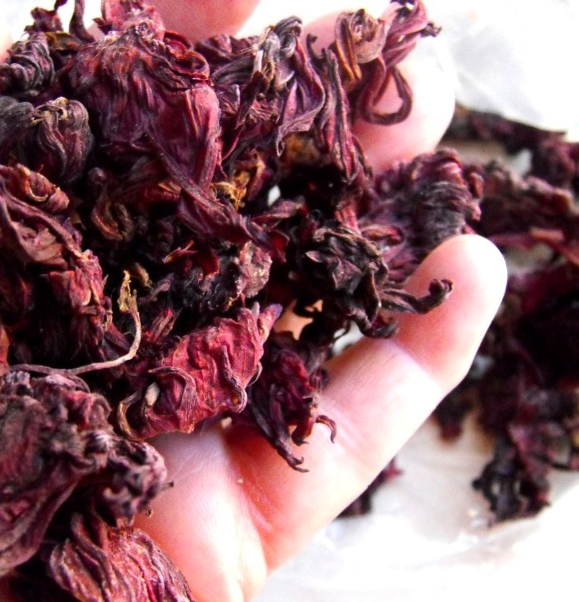 Dried Hibiscus Sabdariffa