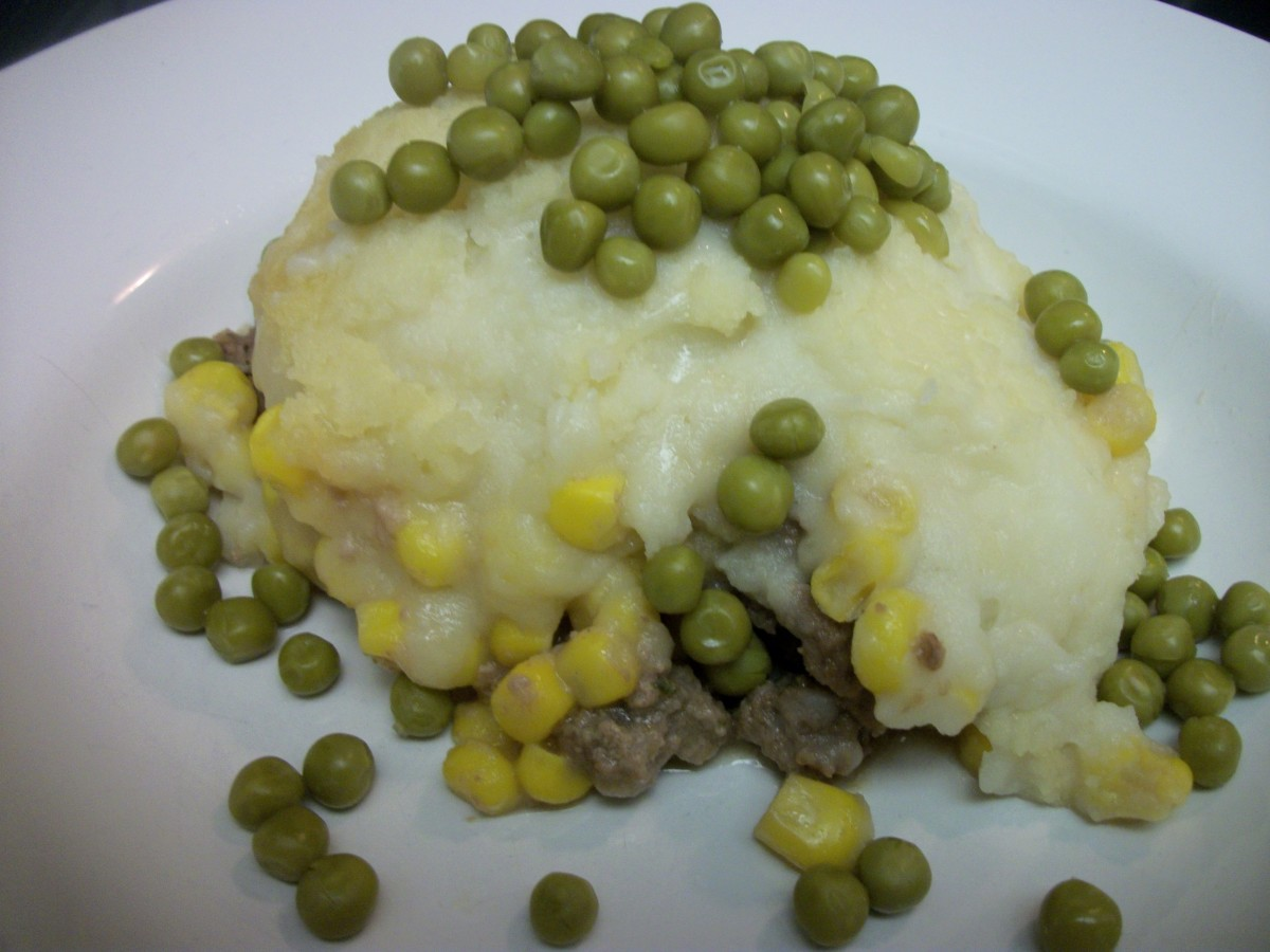 A serving of Shepherd's Pie.