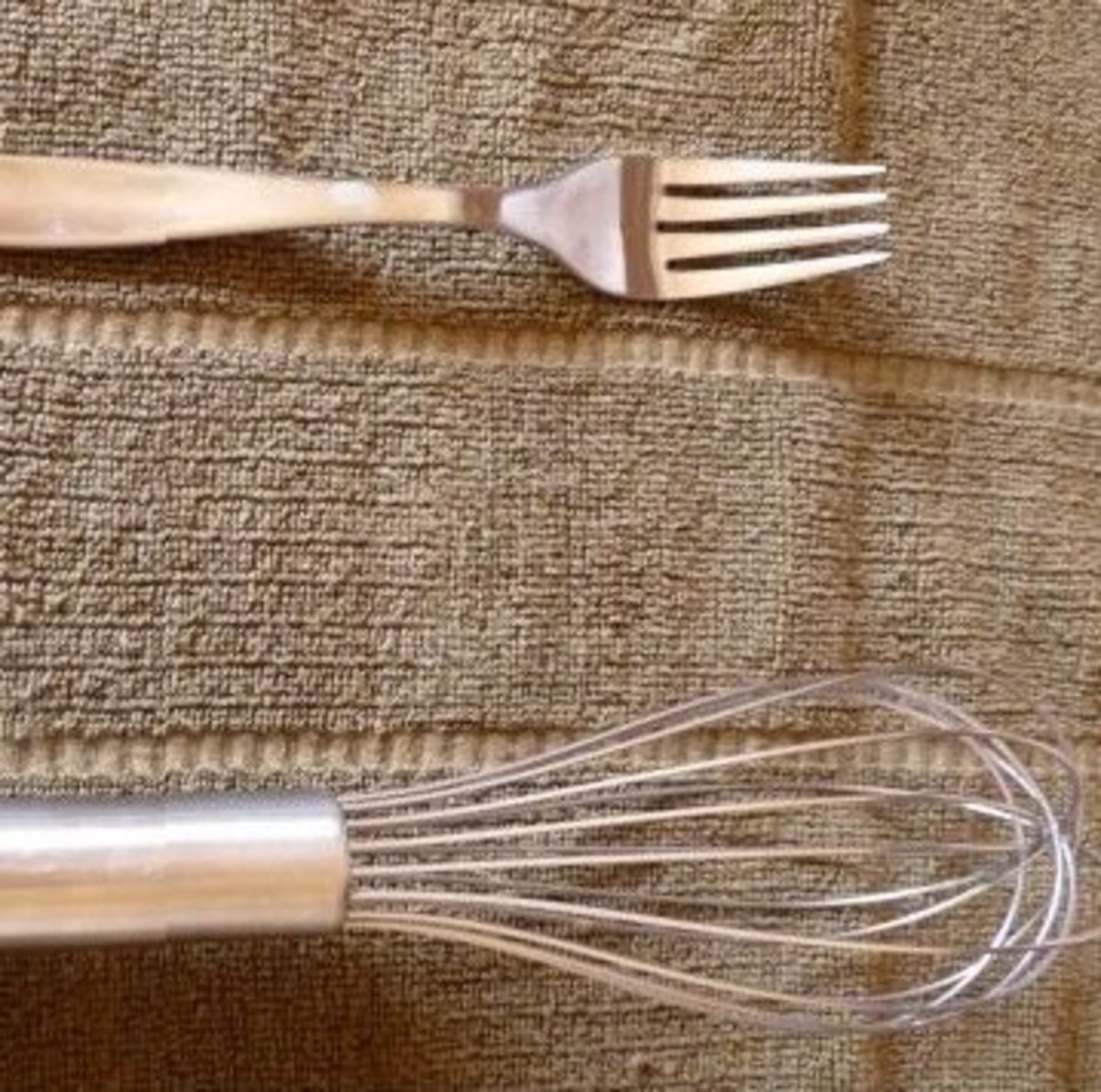 Need a whisk? Use a fork.