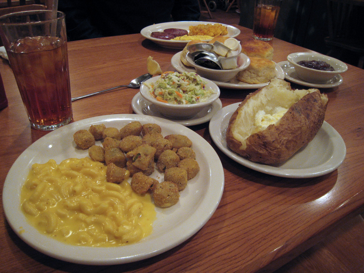 Comfort food at Cracker Barrel