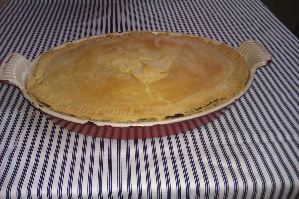 An oval Gur cake