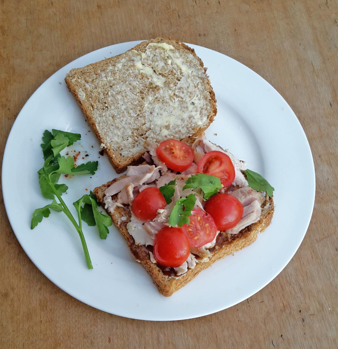 Chicken or Turkey Sandwich