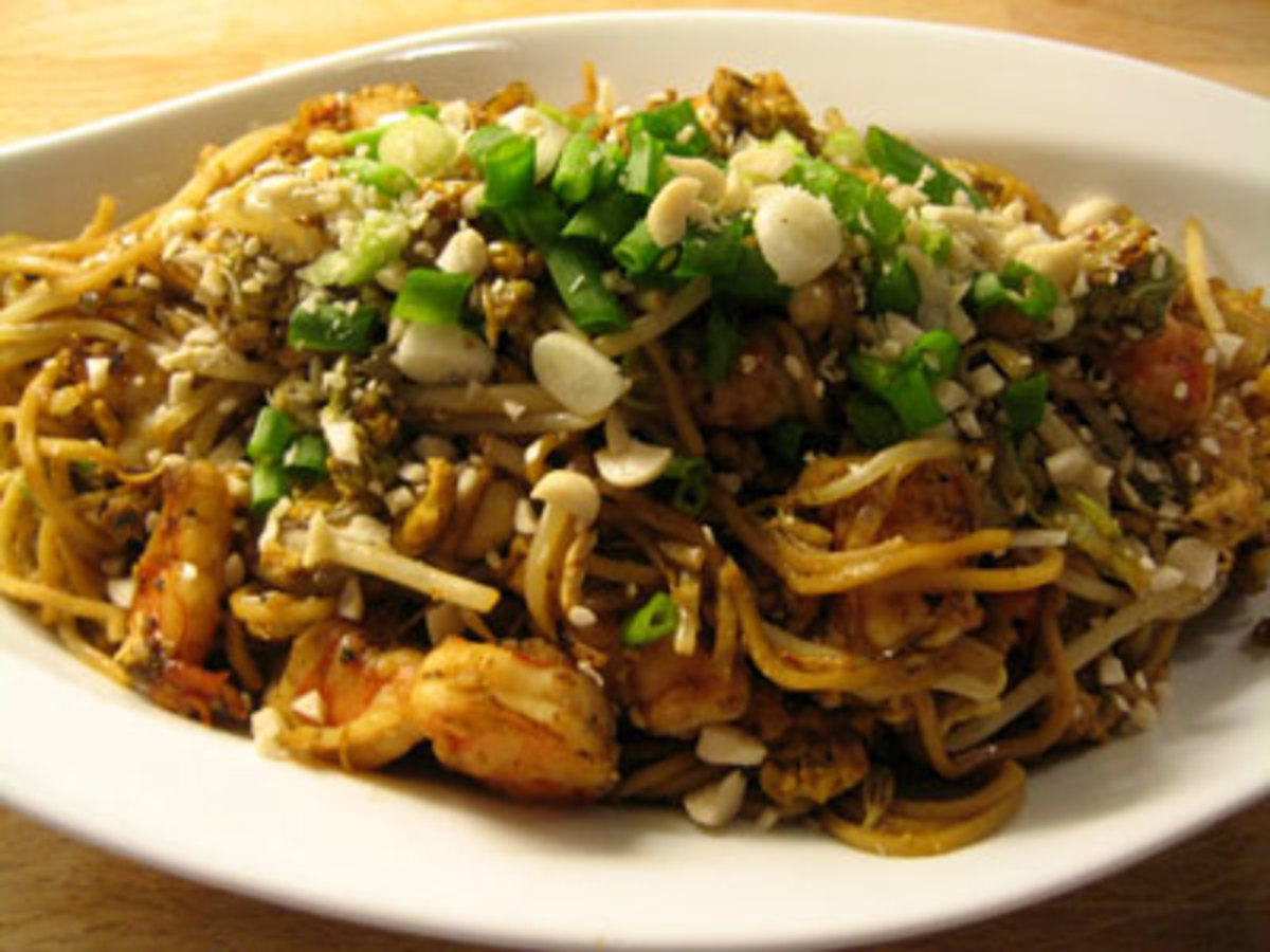 Stir Fry Chicken and Noodles