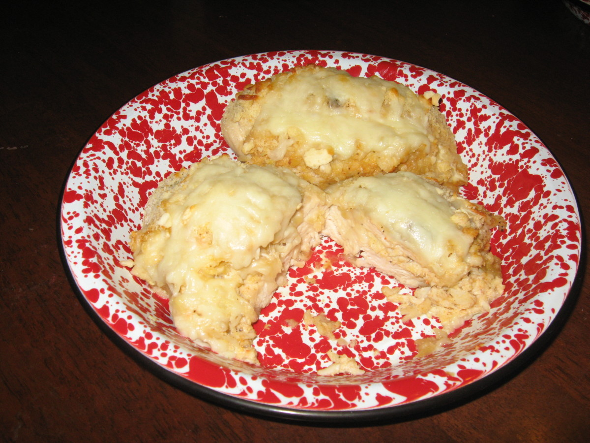 Blue crab recipes like stuffed chicken breasts are great for dinner parties.