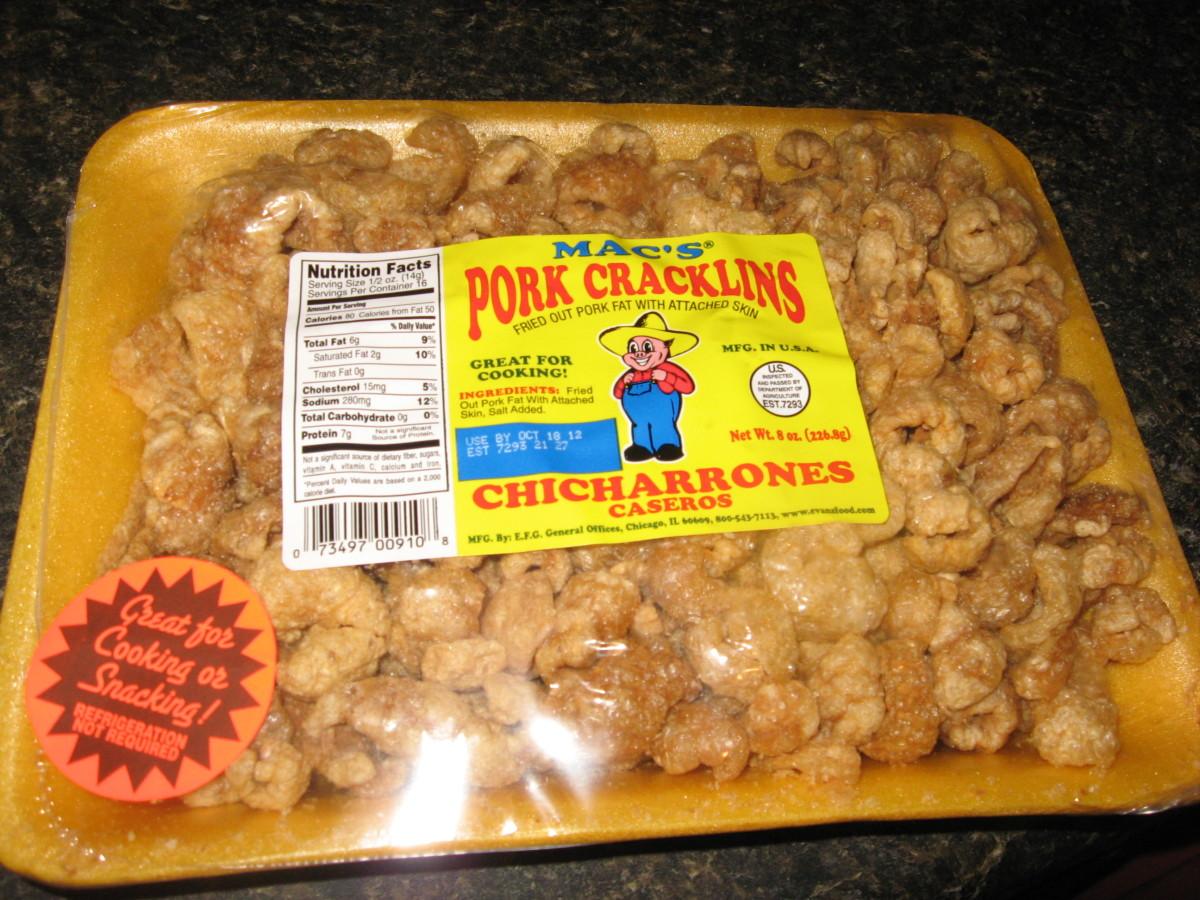 Pork Cracklins