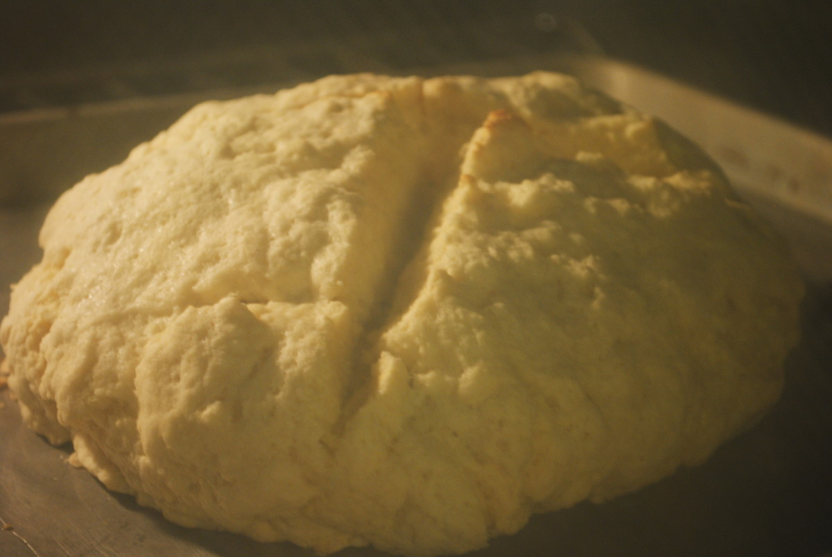 The increased surface area means more crust - which is a glorious thing. It also helps insure even baking throughout.