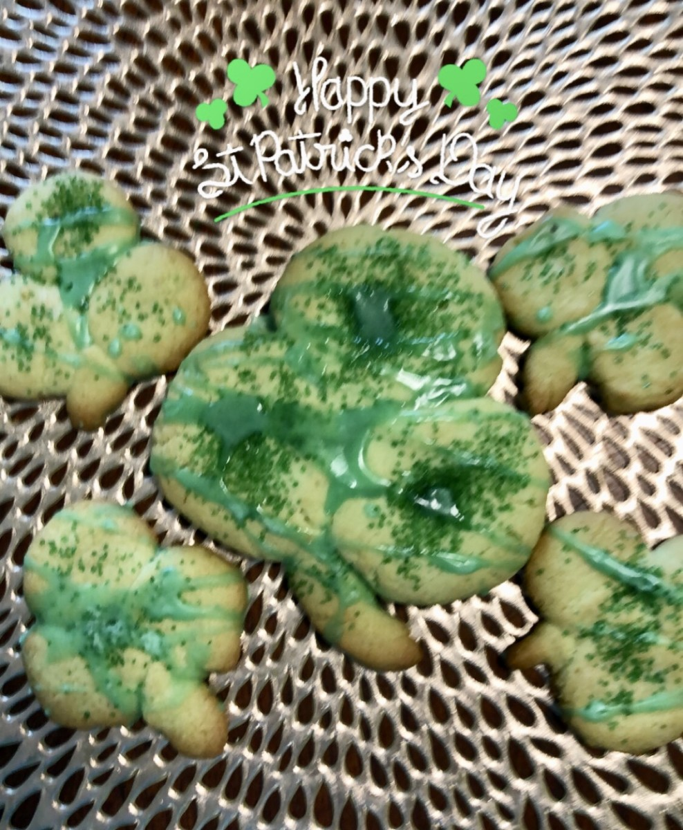 irish-shamrock-cookies