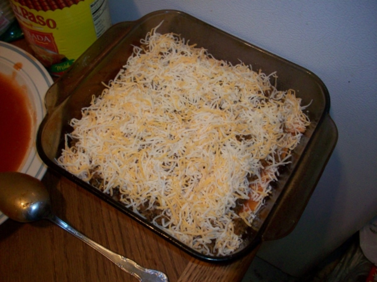 Another Layer on the Enchilada Casserole