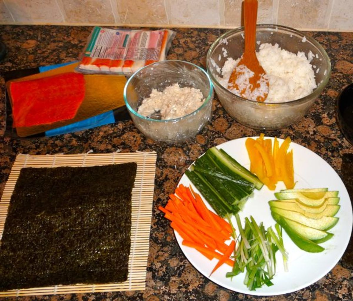 Get your ingredients prepped and ready to go before you start.