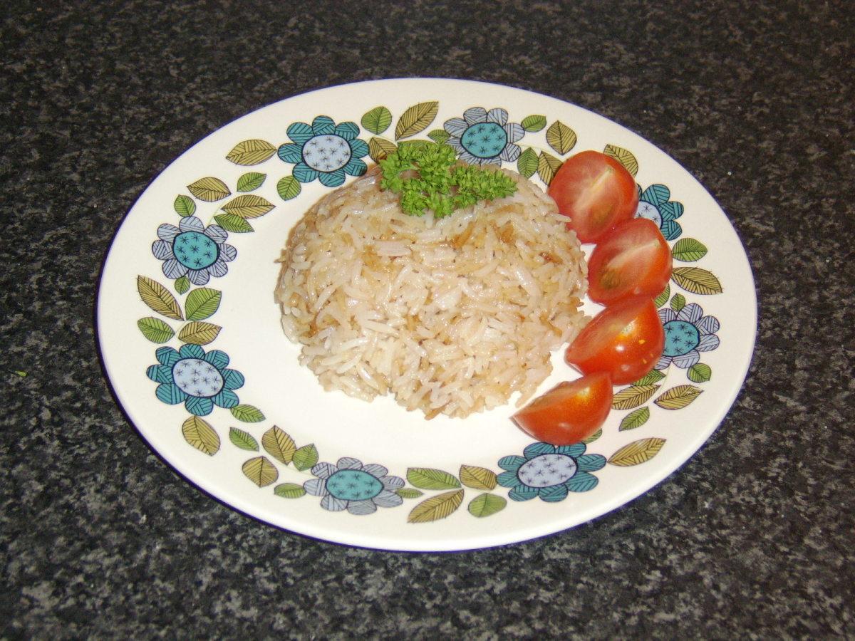 Fried Basmati Rice