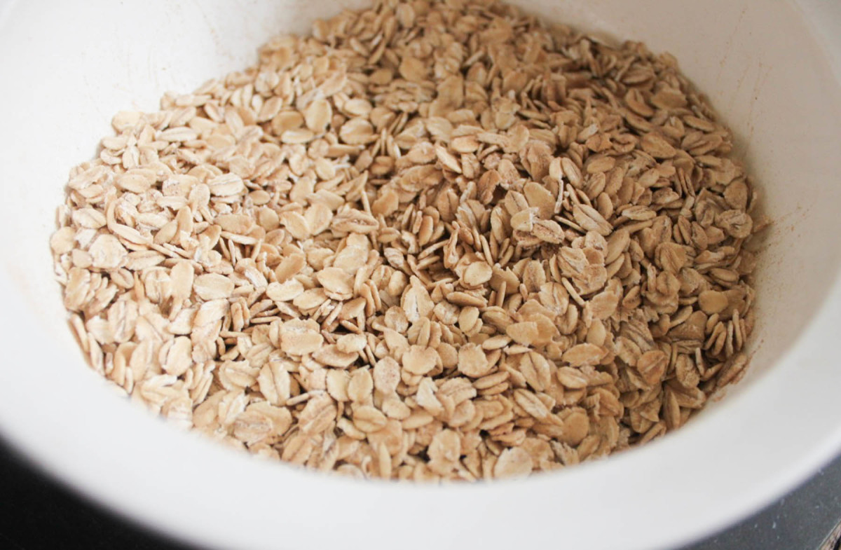 This recipe uses ground oatmeal as a binder—it's a great trick and traditional Southern method.
