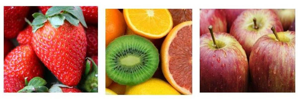 Fruits offer a kaleidoscipe of colours and nutrients, each fruit having its own particular value and qualities.