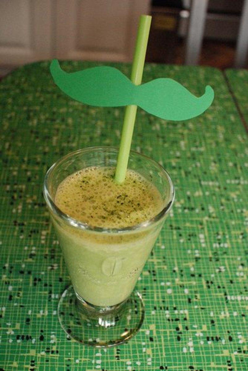 Low-Carb Green Tea Smoothie