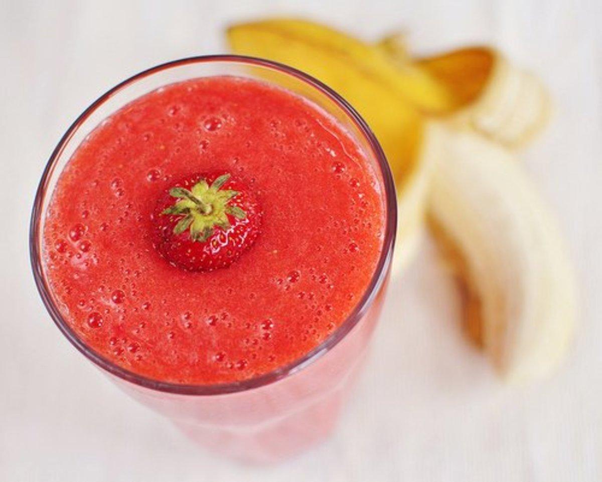 Diabetic-Friendly Strawberry Smoothie