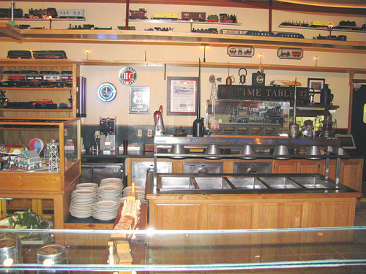 Tulsa Restaurants: Ollie's Station Restaurant